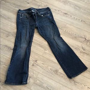 American Eagle Slim Bootcut Jeans Size 12